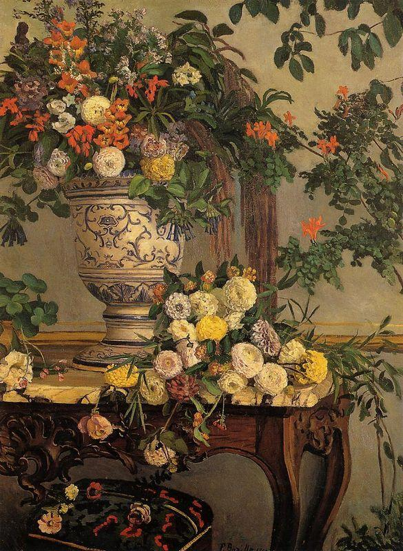 Flowers - Frederic Bazille