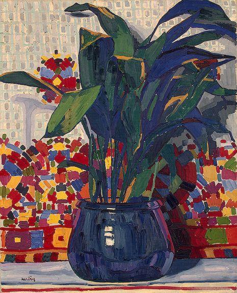 Flowers - Auguste Herbin