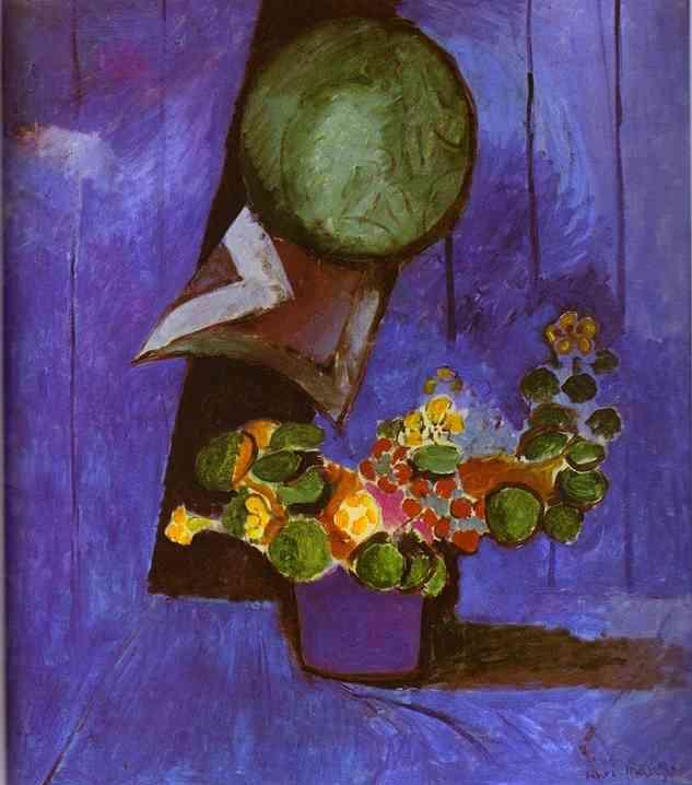Flowers and Ceramic Plate - Henri Matisse