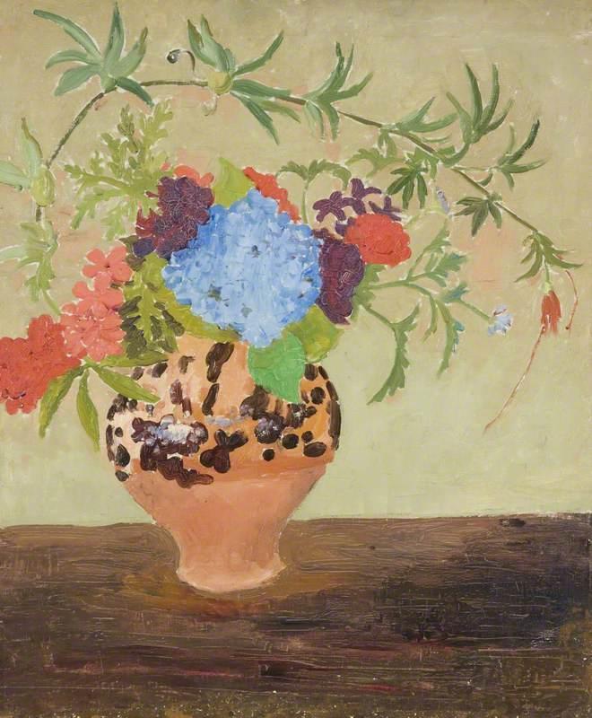 Flowers in a Jar - Augustus John