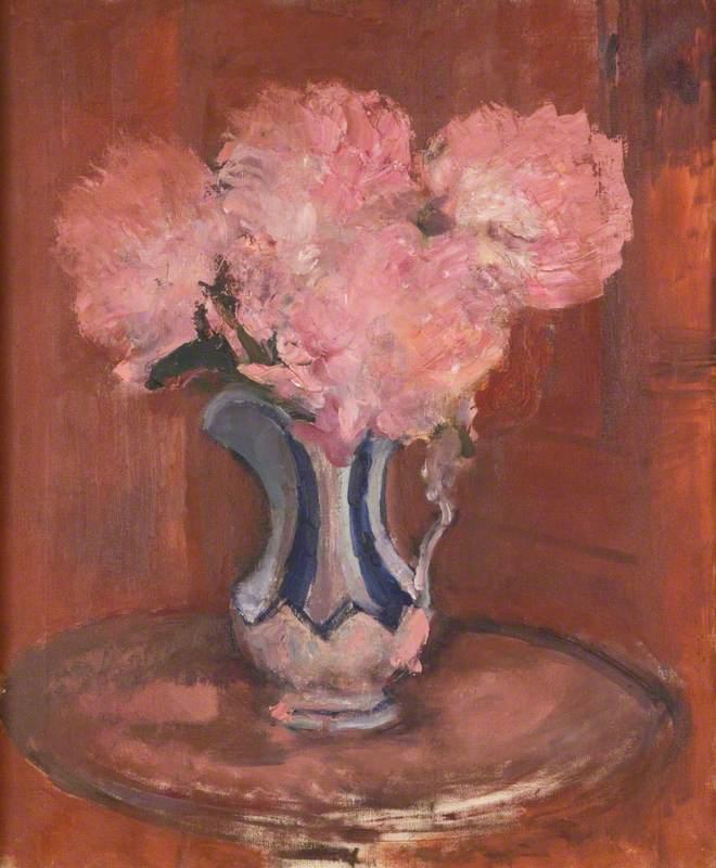 Flowers in a Jug - Augustus John