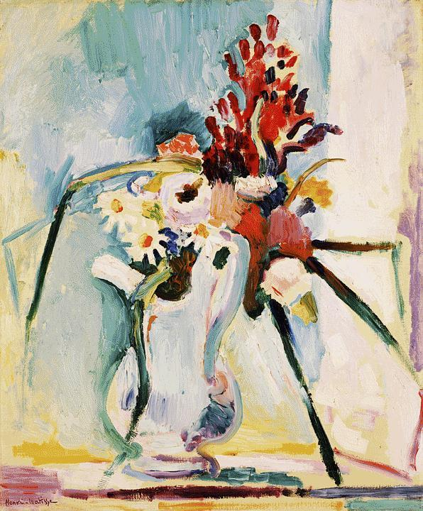 Flowers in a Pitcher  - Henri Matisse