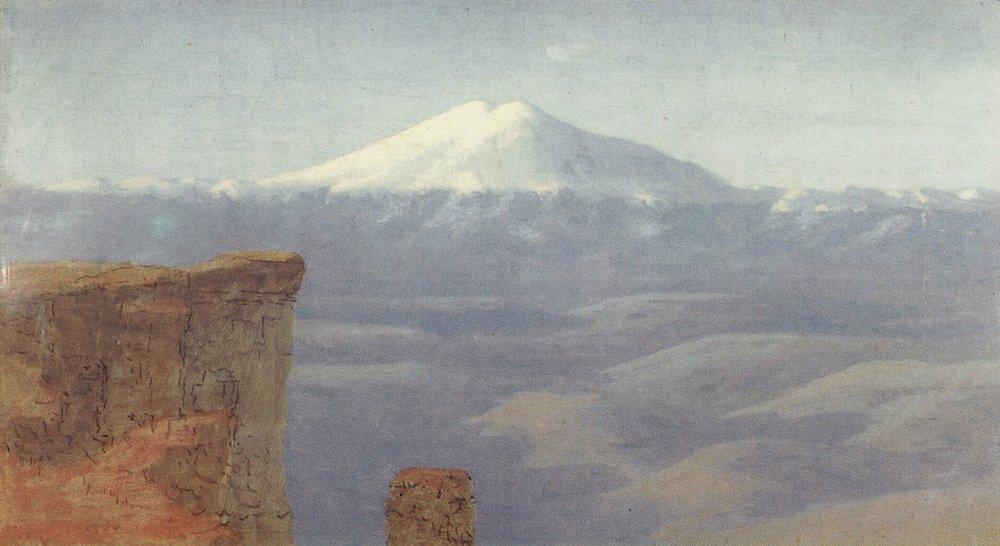 Fog in the mountains. Caucasus - Arkhip Kuindzhi