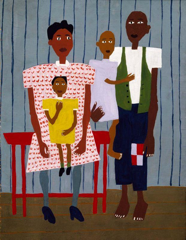 Folk Family - William H. Johnson