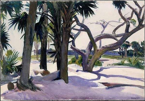 Folly Beach, Charleston, South Carolina  - Edward Hopper