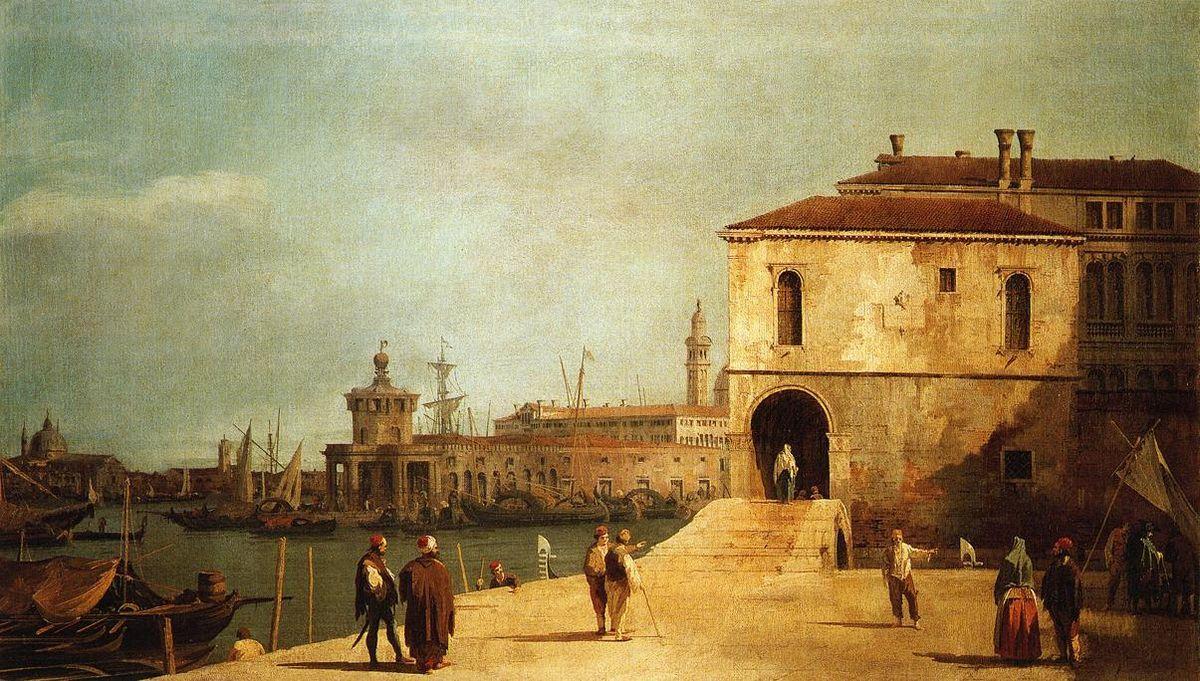 Fonteghetto della Farina - Canaletto