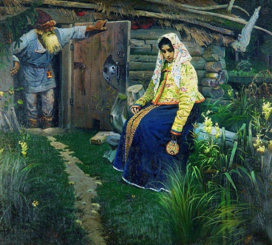For the love potion - Mikhail Nesterov