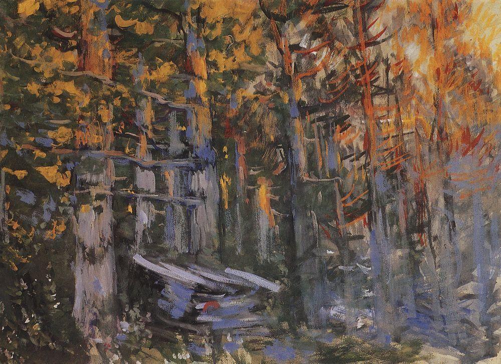 Forest  - Konstantin Korovin