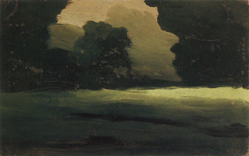 Forest Glade. Fog - Arkhip Kuindzhi