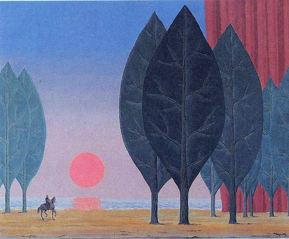 Forest of Paimpont - Rene Magritte