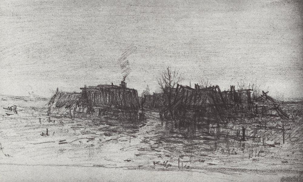 Forgotten Village - Arkhip Kuindzhi
