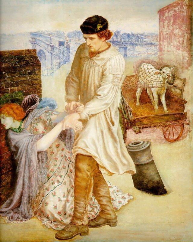 Found - Dante Gabriel Rossetti