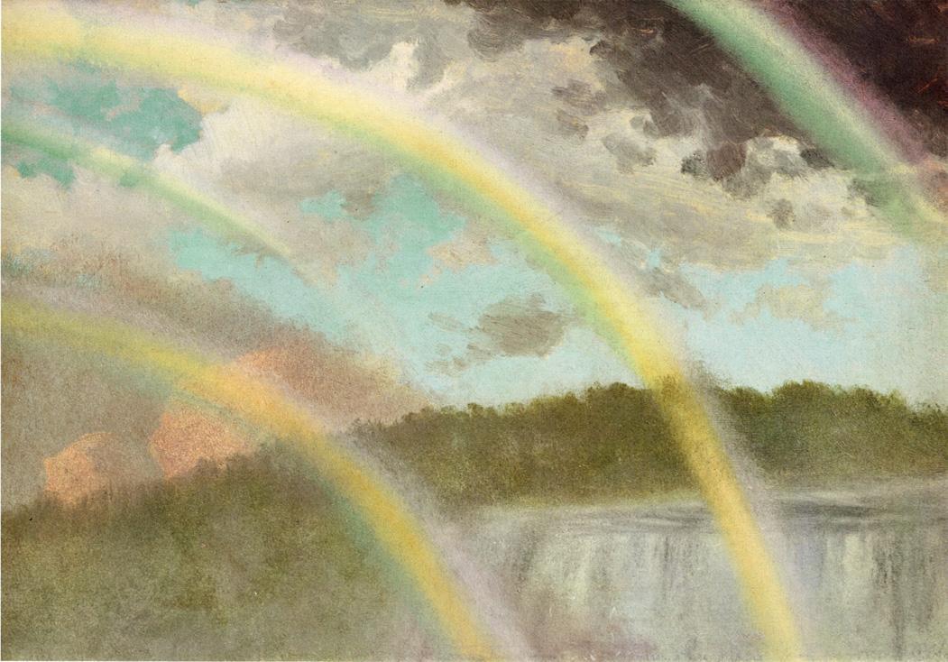 Four Rainbows over Niagara - Albert Bierstadt