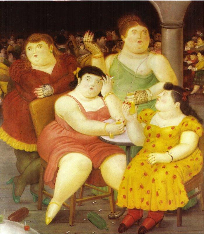 Four Women - Fernando Botero