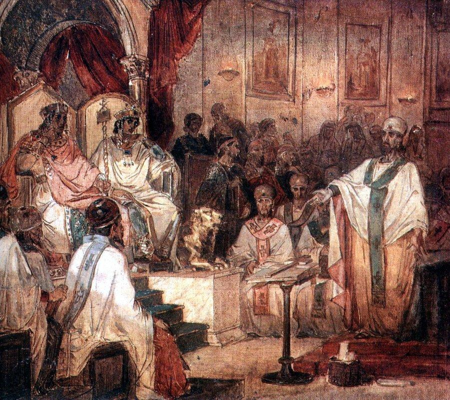 Fourth Ecumenical Council of Chalcedon - Vasily Surikov