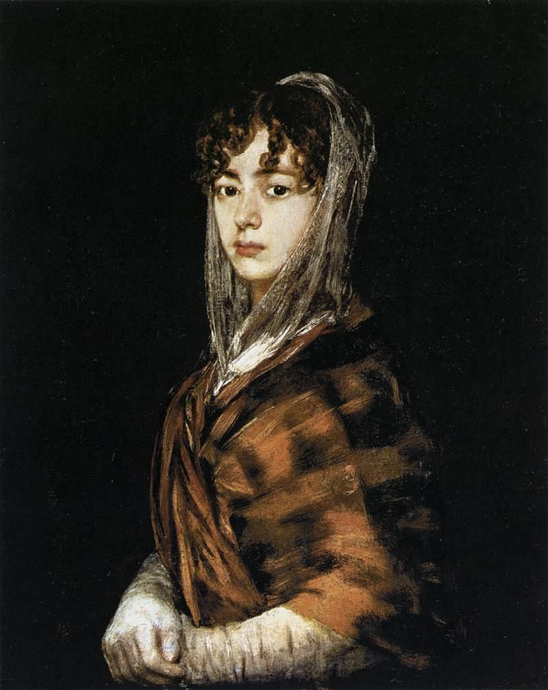 Francisca Sabasa y Garcia - Francisco Goya