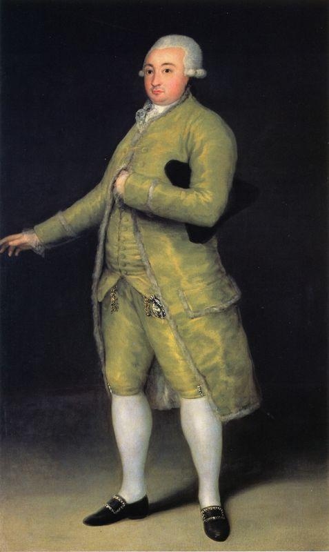 Francisco de Cabarrus - Francisco Goya