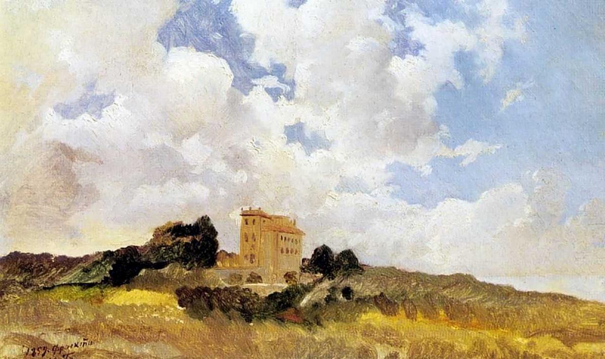 Frascati Clouds - Nikolai Ge