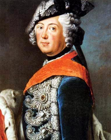 Frederick II of Prussia - Antoine Pesne