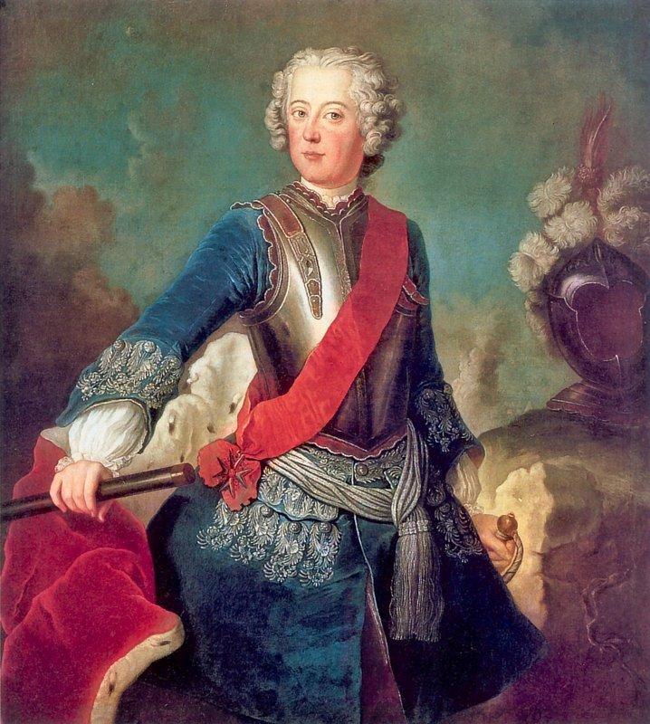 Frederick the Great - Antoine Pesne