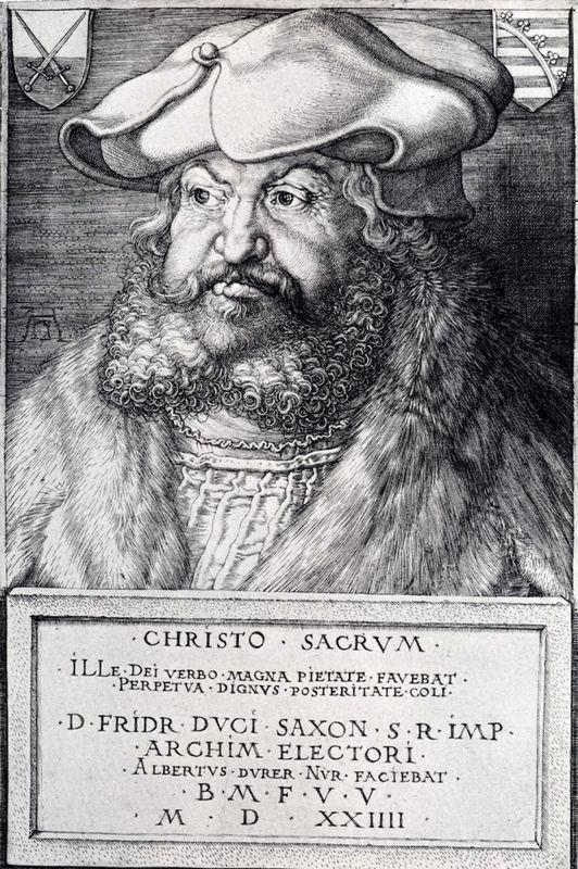 Frederick The Wise, Elector Of Saxony - Albrecht Durer