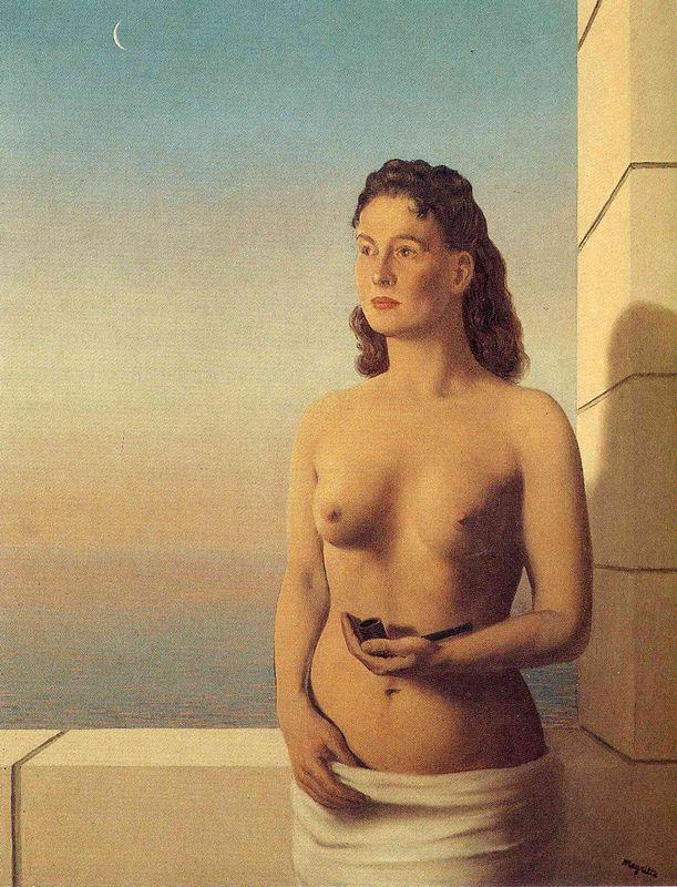 Freedom of Mind - Rene Magritte