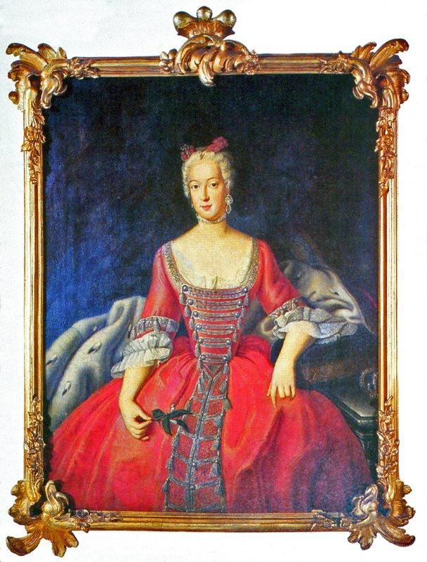Friederike Sophie Wilhelmine Princess of Prussia - Antoine Pesne