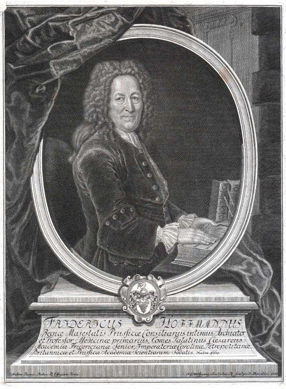 Friedrich Hoffmann, German physician - Antoine Pesne