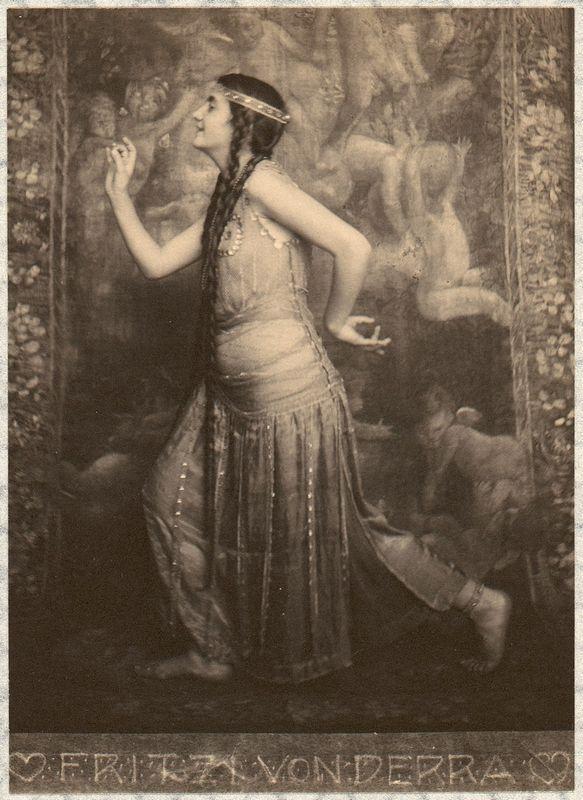 Fritzi von Derra - The Oriental Dancer - Frank Eugene
