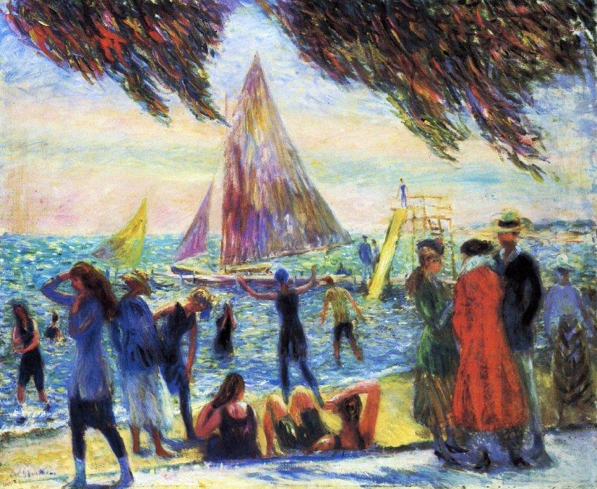 From Under Willows - William James Glackens