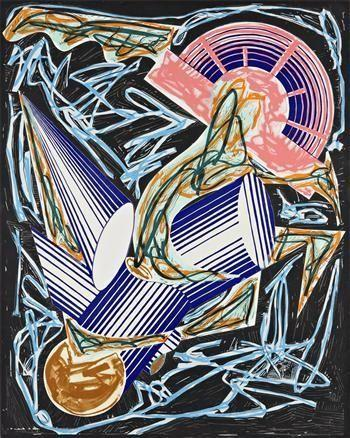 Front Cover, from Had Gadya series - Frank Stella