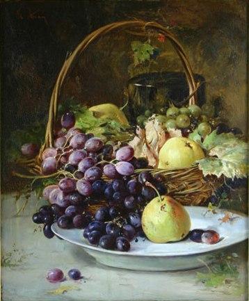 Fruit Basket - Fernando Botero