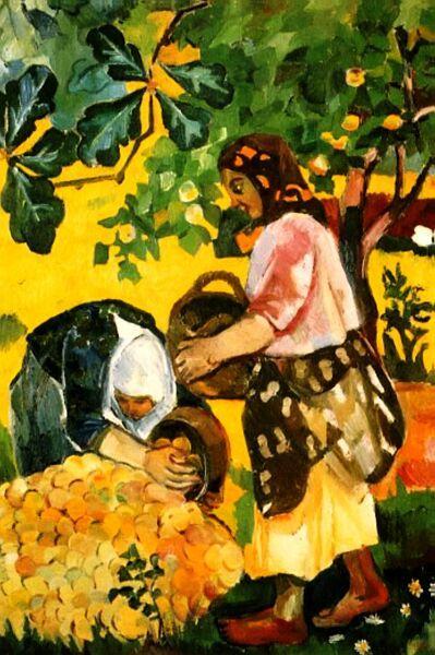 Fruit - Jean Fautrier