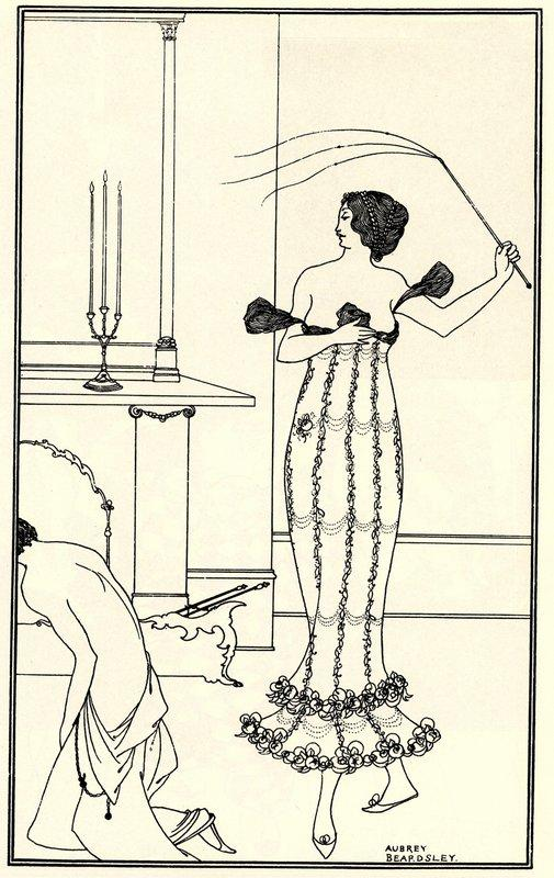 Full and True Account of the Wonderful Mission of Earl Lavender, frontispiece - Aubrey Beardsley