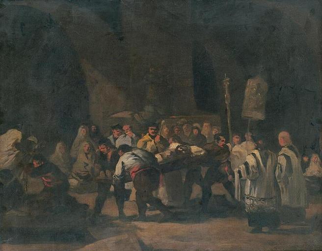 Funeral - Francisco de Zurbaran