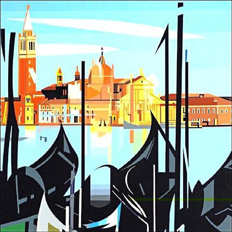 Gondolas - Nadir Afonso
