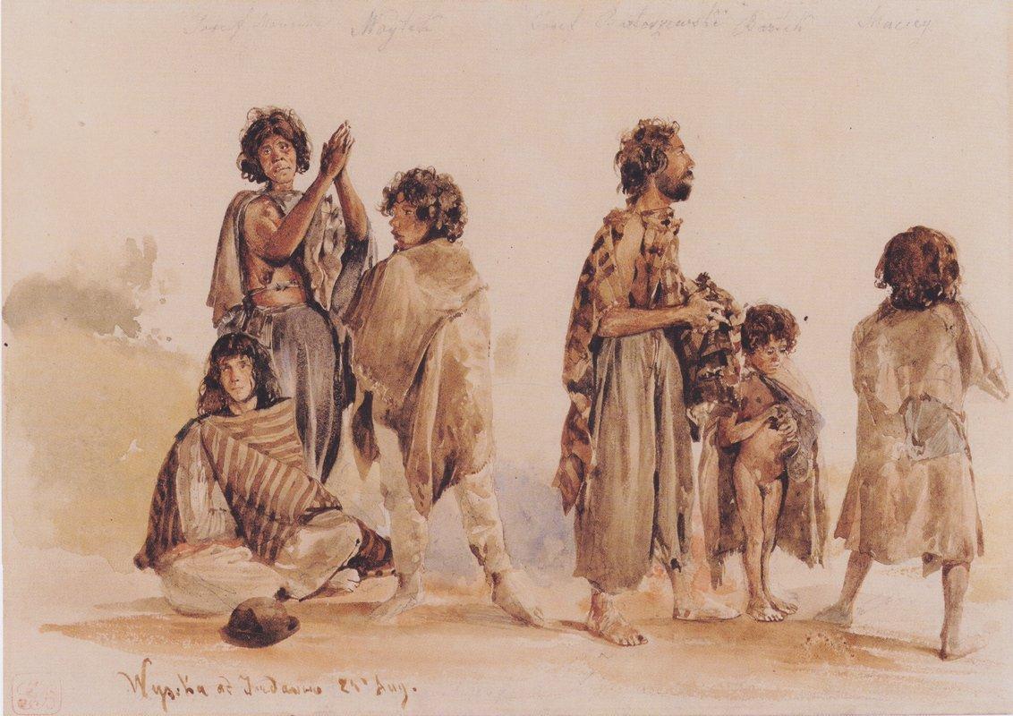 Galician gypsies - Rudolf von Alt