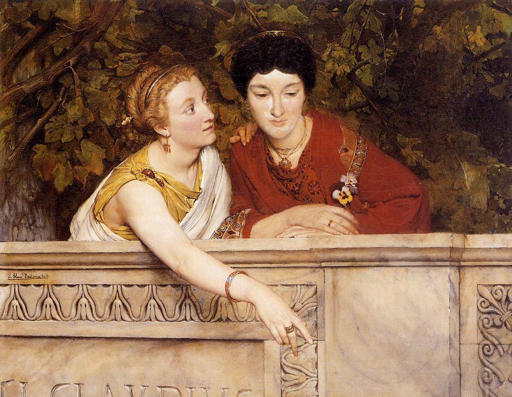 Gallo Roman Women - Sir Lawrence Alma-Tadema