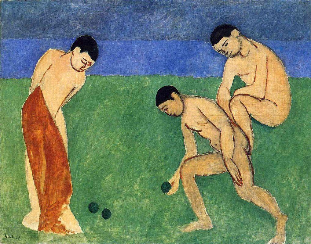 Game of Bowls  - Henri Matisse