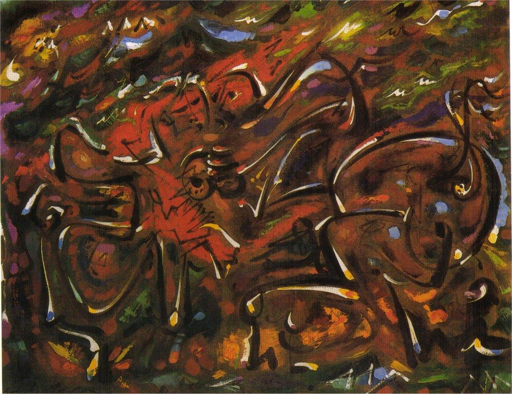 Games Centaurs - Andre Masson