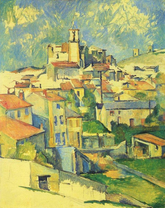 Gardanne - Paul Cezanne