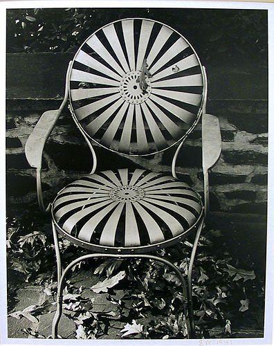 Garden Chair, Autumn - Edward Weston
