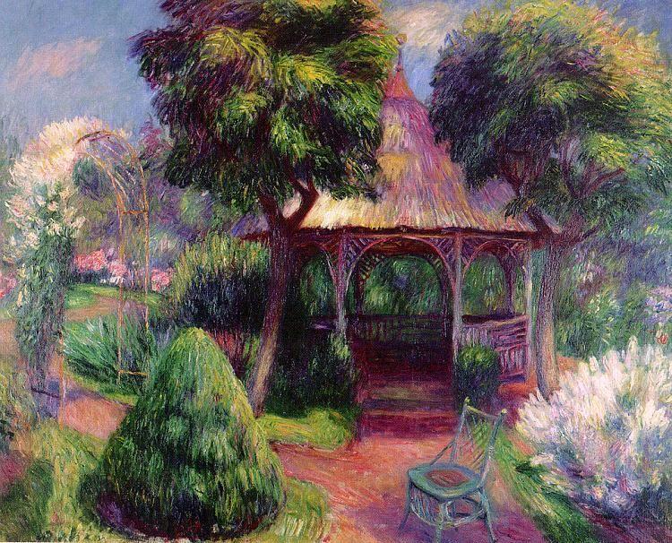 Garden in Hartford - William James Glackens