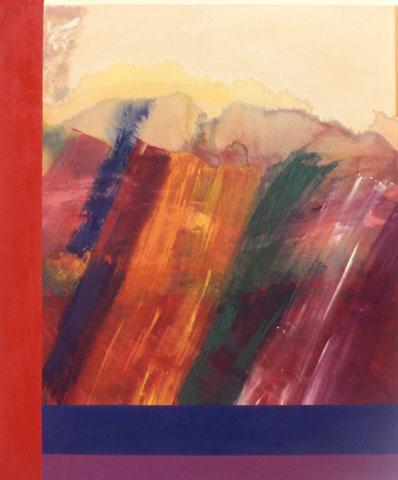 Garden of Delight - Ronnie Landfield