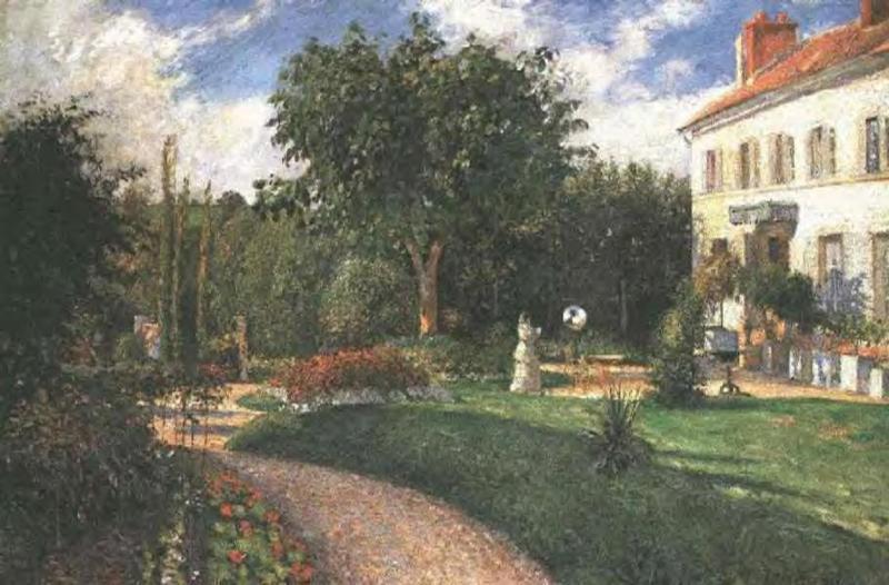 Garden of Les Mathurins - Camille Pissarro