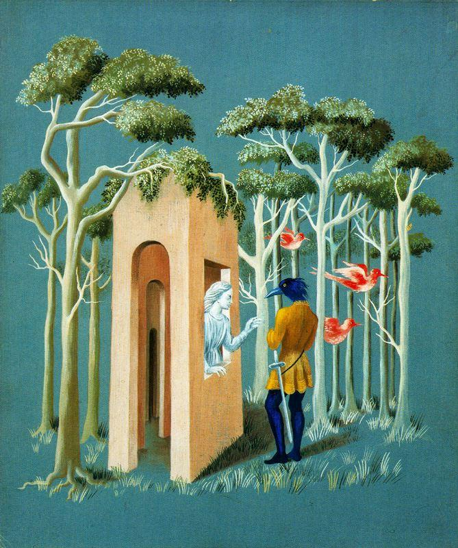 Garden of love - Remedios Varo