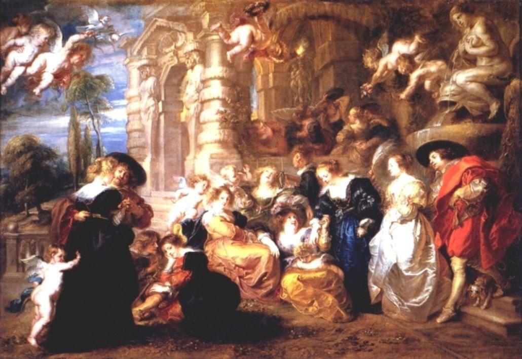 Garden of Love - Peter Paul Rubens