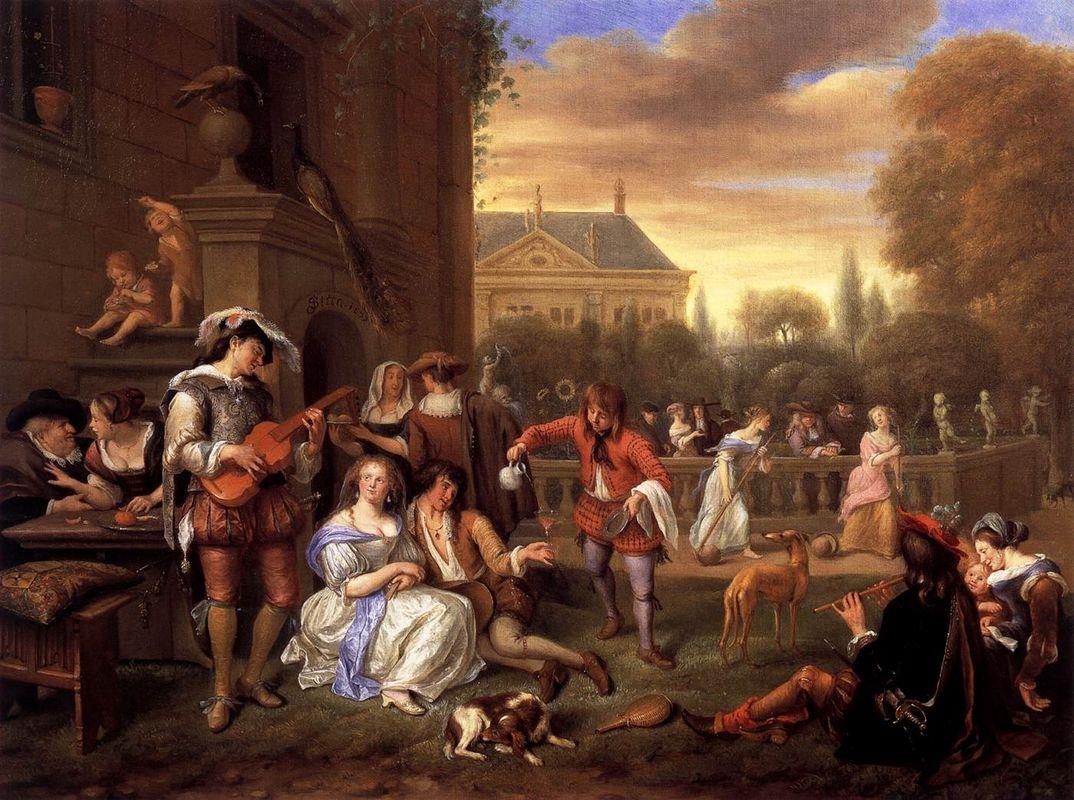 Garden Party - Jan Steen
