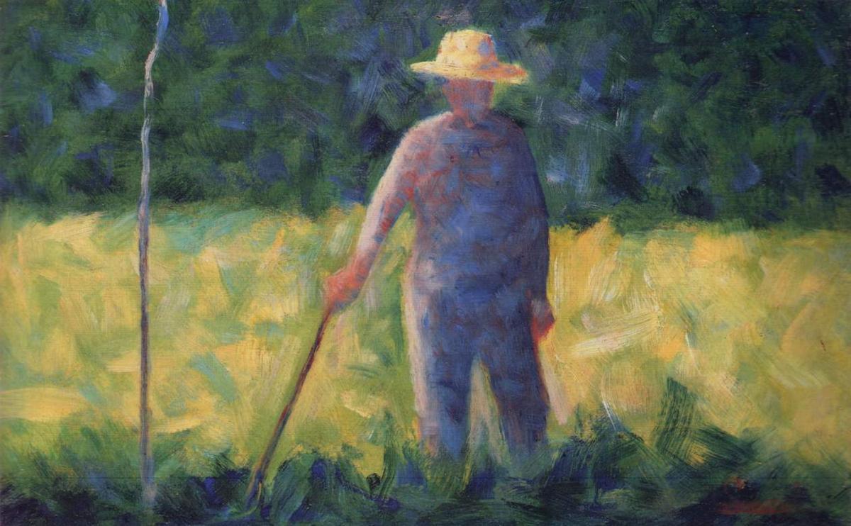 Gardener - Georges Seurat
