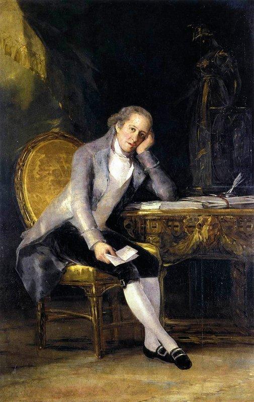 Gaspar Melchor de Jovellanos - Francisco Goya